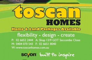 Toscan Homes Home & Land